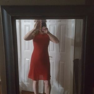 Red Holiday dress